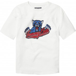 Tommy Hilfiger t-shirt unisex lion in de kleur wit