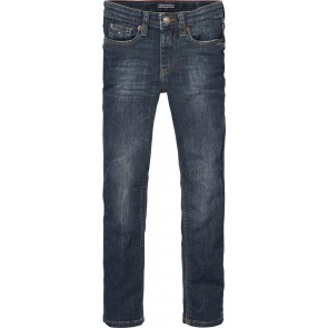 Tommy Hilfiger slim fit jeans broek in de kleur jeansblauw