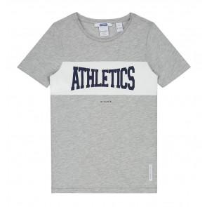Nik en Nik Palmer t-shirt Athletics in de kleur light grey grijs