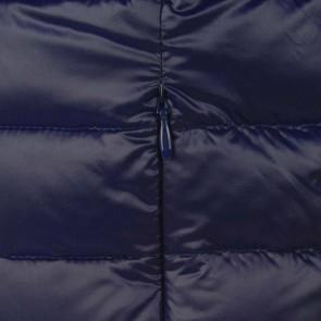 Guess kids padded lichtgewicht winterjas in de kleur donkerblauw