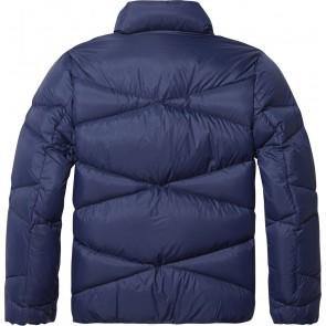 Tommy Hilfiger winterjas in de kleur blauw