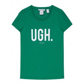 NIK en NIK t-shirt 'UGH.' in de kleur groen