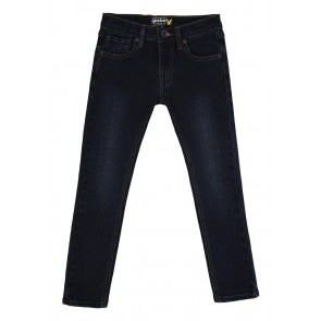 Lyle and Scott skinny fit jeans broek light rinse in de kleur jeansblauw