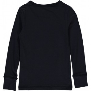 Miss moscow longsleeve shirt Uh Huh in de kleur donkerblauw