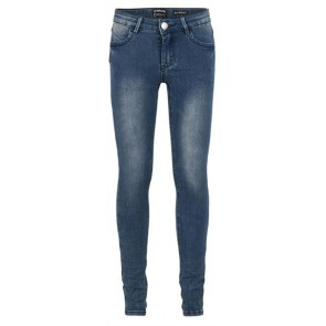 Indian blue jeans denim super skinny fit in de kleur jeansblauw