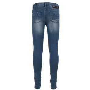 Indian blue jeans denim super skinny fit in de kleur jeansblauw