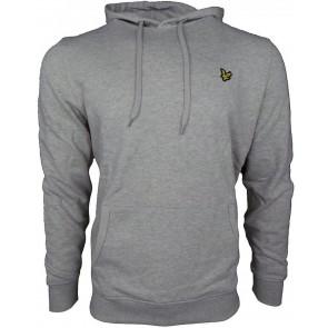 Lyle & Scott hoodie trui in de kleur vintage grijs