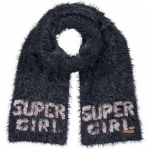 Barts harige sjaal 'Super Girl' in de kleur donkerblauw
