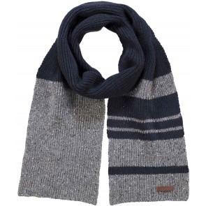 Barts sjaal in de kleuren grijs/blauw