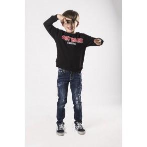 My Brand sweater trui #MyBrand in de kleur zwart
