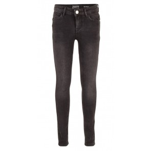 Indian blue jeans super skinny fit denim broek in de kleur donkergrijs