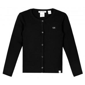 NIK en NIK cardigan Jolie vest in de kleur zwart