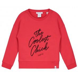 NIK en NIK x Beautynezz sweater trui 'the Coolest Chick' in de kleur rood