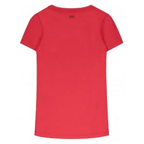 NIK en NIK x Beautynezz t-shirt 'Is it friday yet' in de kleur rood