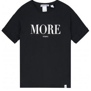 NIK en NIK t-shirt 'More' in de kleur zwart