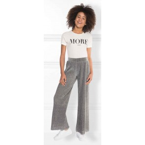 NIK en NIK t-shirt 'More' in de kleur wit