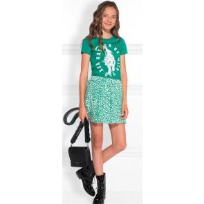 NIK en NIK t-shirt 'Tiger' met print in de kleur groen