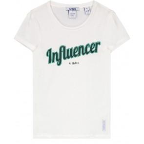 NIK en NIK t-shirt 'Influencer' in de kleur wit