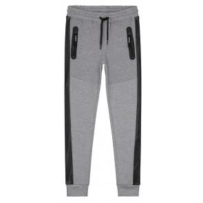 NIK en NIK sweatpants broek 'Faber Mesh' in de kleur grijs