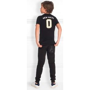 NIK en NIK t-shirt 'Limited' met tekst in de kleur zwart