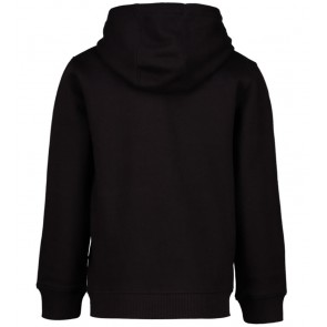 Lyle and scott hooded sweater trui in de kleur true black zwart
