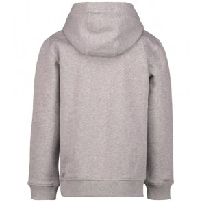 Lyle and scott hooded sweater trui in de kleur vintage grey heather grijs