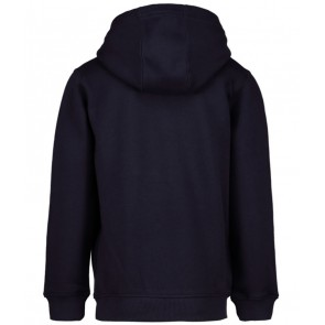 Lyle and scott hooded sweater trui in de kleur navy donkerblauw