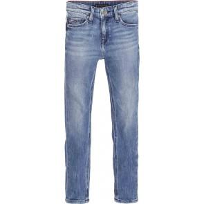 Tommy Hilfiger kids boys simon skinny jeansbroek in de kleur jeansblauw
