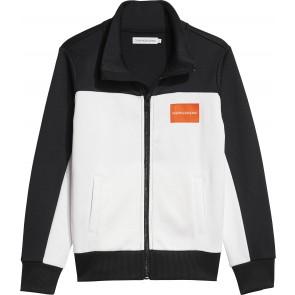 Calvin Klein kids boys colorblock vest in de kleur zwart/wit