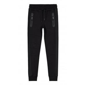 Nik en Nik Boys sweatpants Faber mesh pant in de kleur zwart