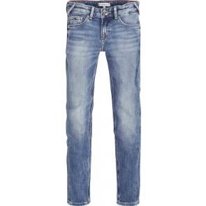 Tommy Hilfiger kids girls sophie skinny broek in de kleur jeansblauw