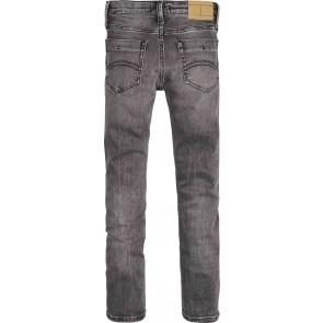 Tommy Hilfiger kids boys scanton slim jeans broek in de kleur grijs