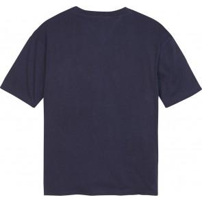Tommy Hilfiger t-shirt met logo in de kleur donkerblauw