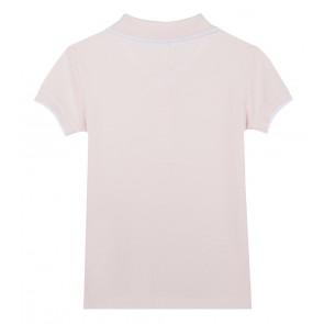 Kenzo kids girls poloshirt in de kleur roze