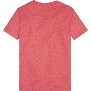 Tommy Hilfiger t-shirt met logo in de kleur rood