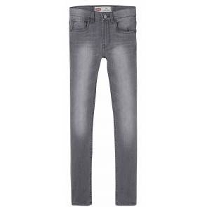 Levi's kids boys denim broek 519 extreme skinny in de kleur grijs