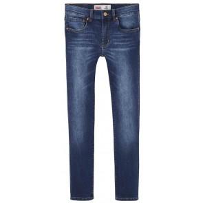 Levi's kids boys denim broek 510 skinny fit in de kleur jeansblauw