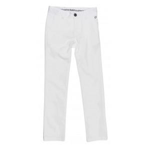 Gymp kids chino broek in de kleur wit