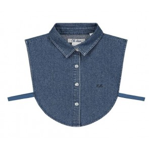 NIK en NIK los kraagje in de kleur jeansblauw