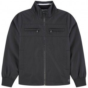 Hugo Boss kids windjacket zomerjas in de kleur zwart