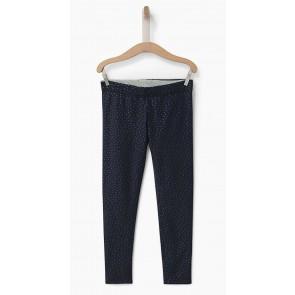 IKKS girls reversible legging met stippenprint in de kleuren donkerblauw/grijs