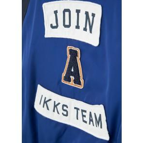 IKKS boys baseball jack zomerjas in de kleur blauw
