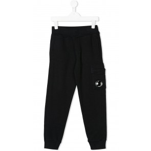 CP Company under sixteen kids sweatpants broek met lens in de kleur zwart