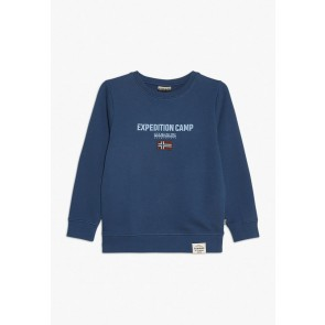 Napapijri sweater trui 'Expedition Camp' in de kleur blauw
