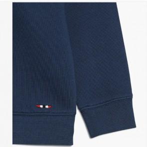 Napapijri hoodie trui met vlag in de kleur blauw