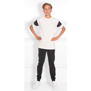 NIK en NIK Marcus t-shirt met strepen op mouw in de kleur wit