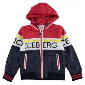 Iceberg kids boys zomerjas met logo in de kleur multicolor
