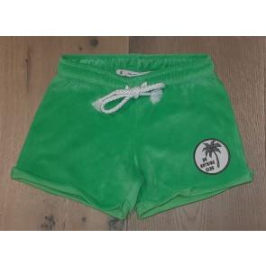 Penn & Ink kids zachte sweatshort in de kleur groen
