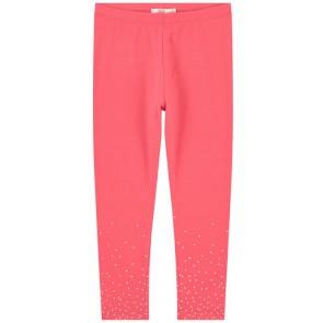 Billieblush legging met stipjes in de kleur fluor roze