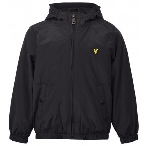 Lyle and Scott zomerjas wind jacket in de kleur zwart